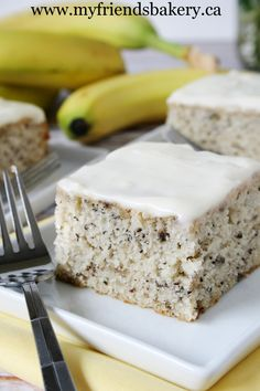 It's My Birthday And Banana Cake With Cream Cheese Icing | My Friend's Bakery