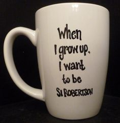 DUCK DYNASTY inspired SI Robertson Mug  When by TheMugglyDuckling, $10.95