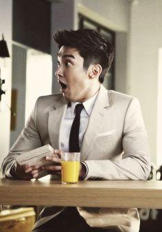 Siwon is appalled.