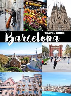 Barcelona, Spain travel guide! Where to go, where to stay, and what to eat.
