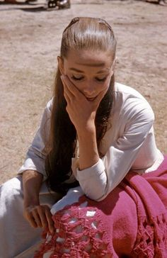 Audrey Hepburn Forever - Audrey photographed during the filming of 'The...