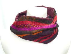 Loop Schal von Pirkko Textilwerkstatt - Stoffe und Genähtes auf DaWanda.com