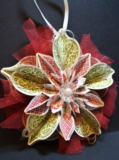 Holiday Catalog Cover Ornament – Tutorial #546 |