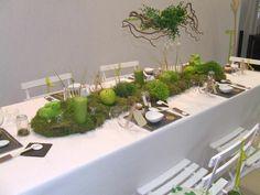 Mariage Nature - Décorations d\'ambiance table mariage #pots de ...