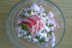 Ředkvičkový salát se šunkou https://www.recepty.cz/recept/redkvickovy-salat-se-sunkou-145166
