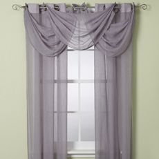 Buy Anya Crushed Voile Window Sheer with Grommets in Mocha from at Bed Bath    Beyond  These window treatments add a light  airy feel to any room Ways To Hang Sheer Curtains   Sheer Valance Will Add Light To Your  . Curtains For Living Room Window. Home Design Ideas