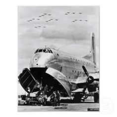 C-124 Globemaster II Transport Aircraft Poster ... nicknamed Old Shakey Transport Aircraft U.S. Air Force