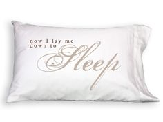Faceplant Dreams: 100% Cotton Pillowcases Imprinted with Messages: Unique Wedding Gifts & Anniversary Gifts, Unique Valentine's Day Mother's Day Gifts, Birthday Gifts Ideas: Personalized, Different from Monogrammed Pillowcases  now in stock at ld linens & decor