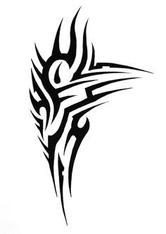 tribal shoulder by SorenTalon on DeviantArt Tribal Chest Tattoos, Cool Tribal Tattoos, Tribal Shoulder Tattoos, Chest Piece Tattoos, Chest Tattoo Template, Tattoo Templates, Shoulder Piece Tattoo, Shoulder Armor Tattoo, Tattoo Designs Tumblr