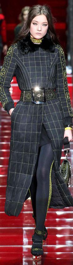 Versace.Fall 2015.