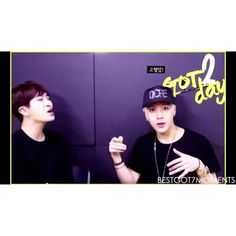 "Watch best got7 moments's Vine, ""youngjae mocking jackson's korean while jackson mocks youngjae's english"""