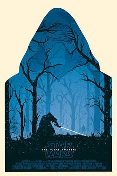 Star wars Episode VII: The Force Awakens | alternative poster by Olly Moss