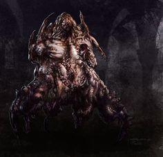 nightmare creature 01 by granttheartist on DeviantArt