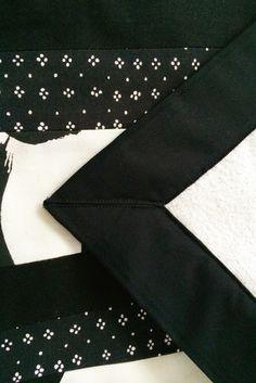 Mustaa ja valkoista. Tee-se-itse idea vauvalla