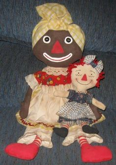 Beloved Belindy and Raggedy Ann primitives