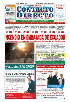 SEMANARIO CONTACTO DIRECTO EDICIÓN  09/29/2017