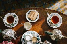 anchordal: Afternoon Tea by Jade Sheldon Coffee Break, High Tea, Drinking Tea, Afternoon Tea, Tea Time, Tea Party, Food Photography, Tea Cups, Bakery