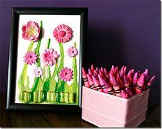 Vuing.com » Art of melting crayons