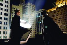 BB: Christian Bale as Batman and Gary Oldman as Jim Gordon Batman The Dark Knight, The Dark Knight Trilogy, Im Batman, Batman Comics, Batman Begins Movie, Batman Christian Bale, Gotham Tv Series, Guess The Movie, Best Superhero