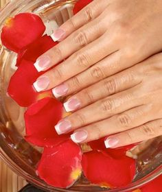 If you have brittle nails then soak them for about 15 minutes in a bowlful of olive oil, a few drops of lemon and some essential oils every week.