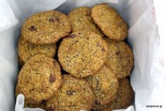 Nigella, Healthy Sweets, Cookie Recipes, Banana Bread, Biscuits, Caramel, Muffin, Food And Drink, Cookies