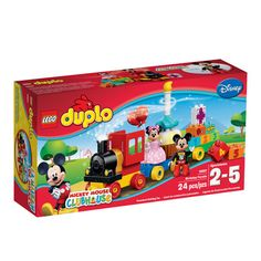 Mickey & Minnie Mouse Birthday Parade  Duplo - toys / $24.99
