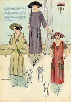 Elite Styles Magazine - March 1922 by myvintagevogue, via Flickr