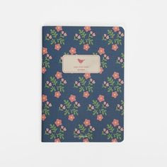 Patterned Pocket Notebook - Garden