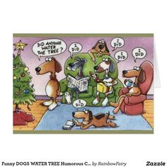 Humorous christmas cards