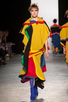 Westminster BA Fashion Design show 2015 Chloe McGeehan