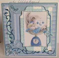New Baby Card using the Bebunni Baby collection from #crafterscompanion
