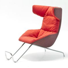 Take a Soft Line for a Walk Lounge Chair by Moroso