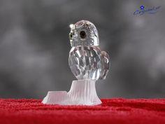 Crystal owl Crystal animal Crystal figurine by Crystals3DEngraving
