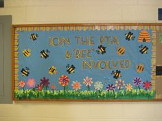 bee themed pta membership campaign - Google Search