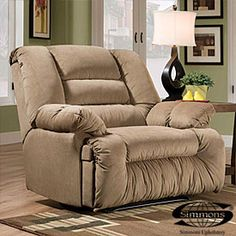 The New Chair For The Mancave! BigLots Has Got Some Good Specials On Chairs!  Oversized ReclinerCuddle ...