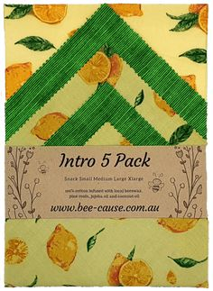 BEE-CAUSE WAX WRAPS – Environmentally friendly cling wrap alternative. Bees Wax Wraps, Biodegradable Products, Something To Do, Alternative, Environment
