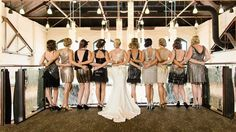 Great #Gatsby Style wedding featuring globalrose.com flowers