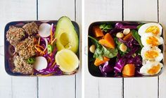 Sometimes you eat the leftovers, don't have any food in the house or you're just unorganised! Here's our healthy, quick & easy lunch ideas