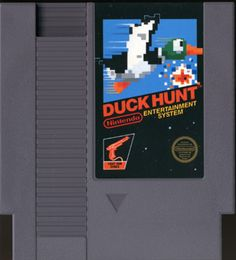 Duck Hunt & who never put the gun up to the screen to shoot????  Don't tell a story, you know you did!!! HAHA!
