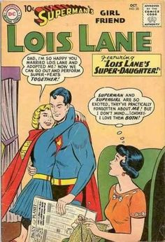 The time Lois was concerned that Superman was getting a little too close to his cousin.