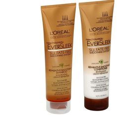 L'Oreal Paris EverSleek Repairative Smoothing Shampoo and Conditioner, 8.5-Fluid Ounce *** This is an Amazon Affiliate link. To view further for this item, visit the image link. Hair Shampoo, Shampoo And Conditioner, Frizz Control, L'oréal Paris, Loreal, Beauty Hacks, Beauty Tips, Hair Care, Short Hair Styles
