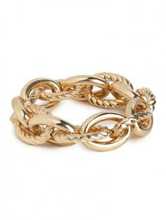 gold mixed oval bracelet / baublebar