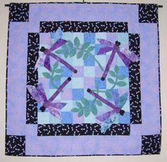 Crochet Dragonfly Applique Pattern | This is ideal for bright, colorful fabrics. Welcome! Dragonfly Quilts ...