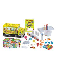 Look at this Magic School Bus: Slime & Polymer Lab Kit on #zulily today!