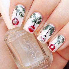 christmas by phenomenail #nail #nails #nailart