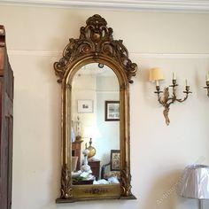 Antiques Atlas - French Gilt Pier Mirror