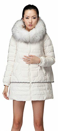 I highly recommend this down jacket. If you find its beauty contained within, you will go for it just like me. 360-degree draping, pure color design with exquis...
