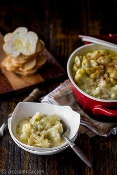 Creamy Cauliflower & Potato Bake (Side Dish)