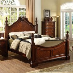 sleigh bed king queen twin upholstered warm country style and bold