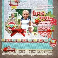 A Project by sarahmullanix from our Scrapbooking Gallery originally submitted 02/06/12 at 07:25 AM